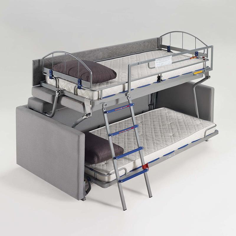 Sof cama litera espectacular sofa cama - Cama convertible en litera ...