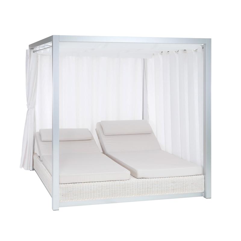 CAMA BALINESA SUNSET - Muebles de diseño en Soluciones Contract