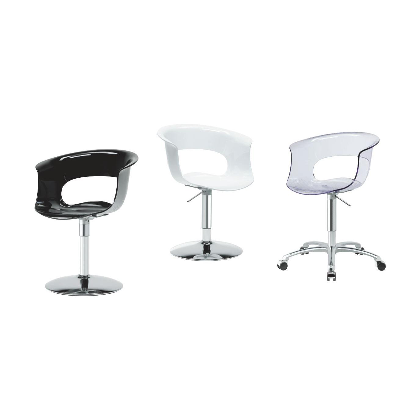 Silla giratoria miss b oficce soluciones contract - Ruedas para sillas giratorias ...
