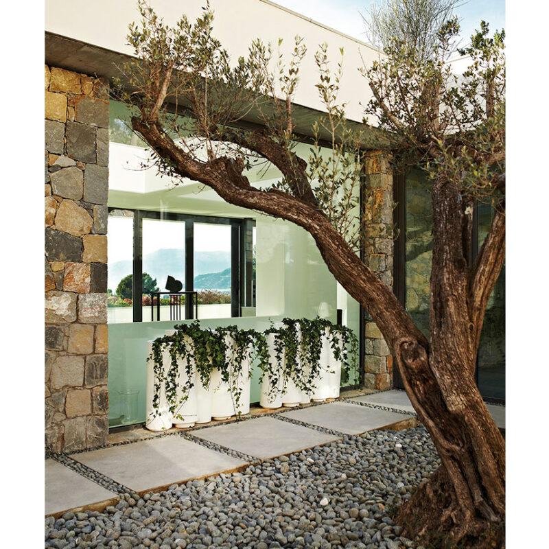 Macetero diseño Bamboo de slide