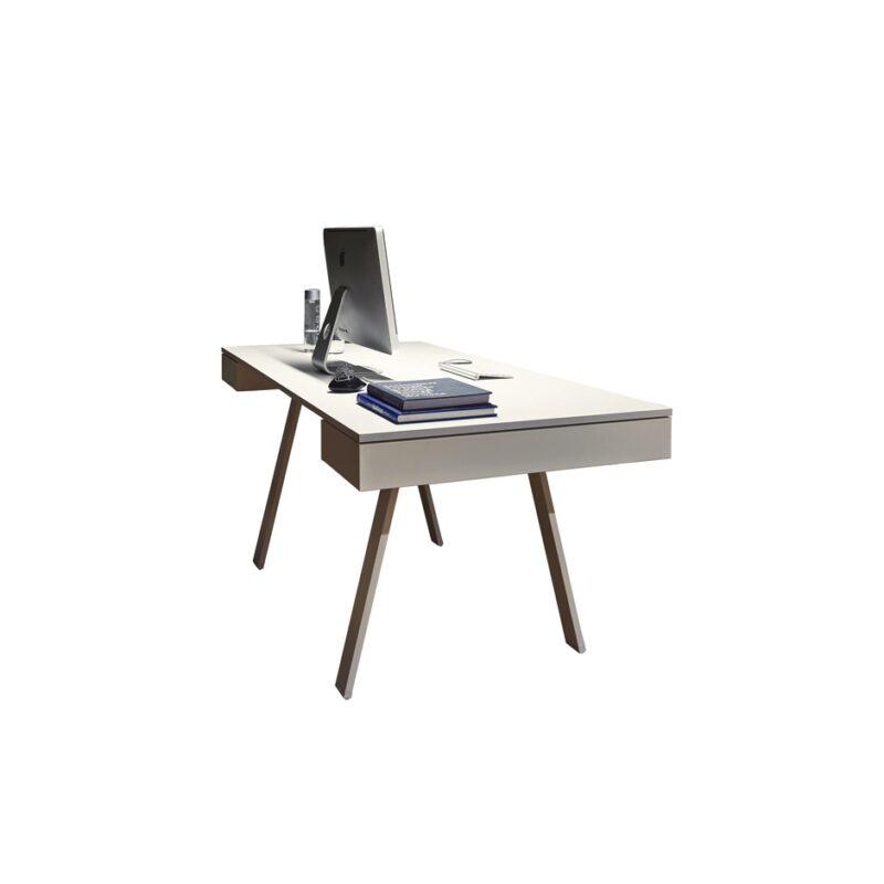 Mesa de oficina con 2 cajones