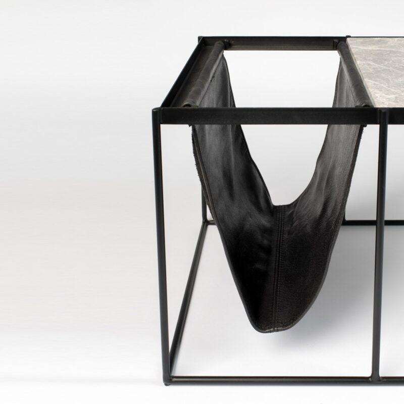 mesa-revistero-Kansas-hierro-mármol