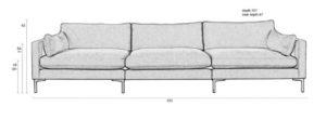 sofa-summer-5 plazas-tapizado