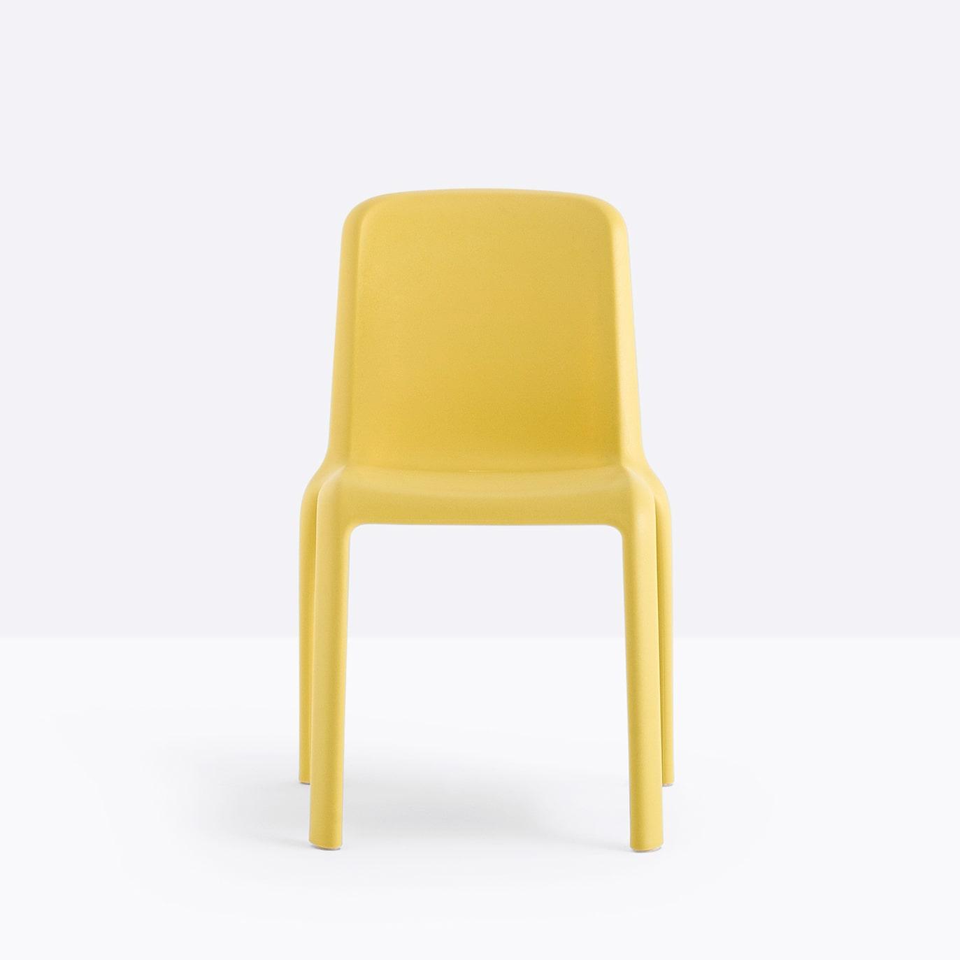 silla-snow-amarillo-pedrali