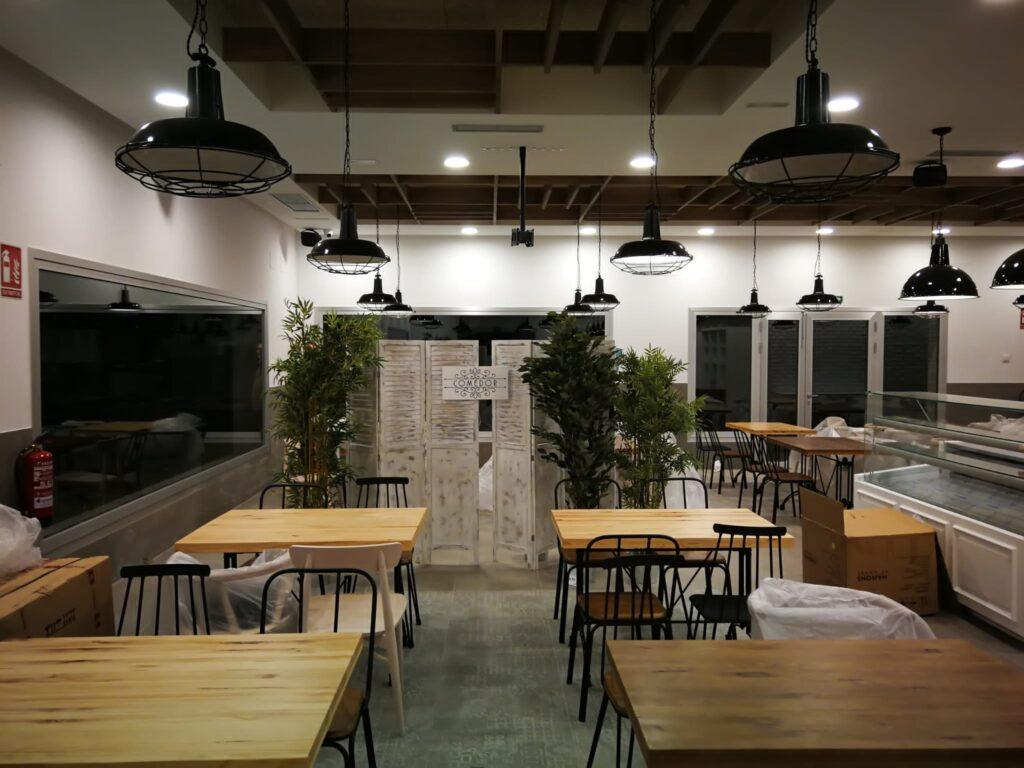 Mobiliario de diseño para cafeterías 1